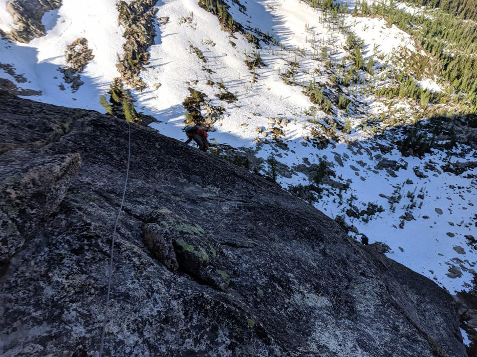 Following the crux